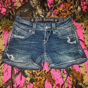 Rock Revival Jean Shorts